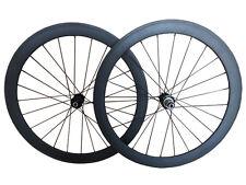 Disc Brake 23mm Width 60mm depth clincher carbon bike road Cyclocross wheelset