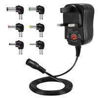 AC Multi Voltage Power Supply Adapter 500mA 3V 4.5V 5V 6V 7.5V 9V 12V DC 1A ATE