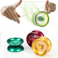 1x Pro Aluminum Design Magic YOYO Ball Bearing String Kids Game Toy Random 6*4cm