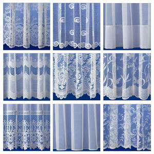White Net Curtains By The Metre - Premium Quality, Choice & Great Value