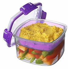Sturdy Lunch Container Box Sistema 21320 Snacks 400Ml Food Dining Kitchen fresh