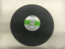"STIHL 0835 022 1026 NEW NO BOX 1"" STONE HIGH SPEED CUTTING WHEEL 14"" #D17"