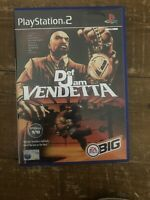 Def Jam Vendetta (PS2), Very Good Condition Playstation 2 Video Game + Manual