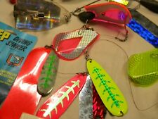 Divers Sinker & Flashers Fishing Tackle Mixed sized lot Rigging AS Pictured(#2)