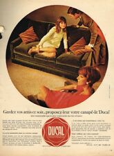 K- Publicité Advertising 1967 Meubles mobilier canapé lit Ducal