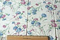 "Genuine Vintage c1940-50 Floral Cotton Feedsack Fabric/Material~L-15""X W-36"""