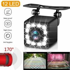 Car RearView Reverse Backup Camera Parking HD Night Vision Waterproof CMOS 12LED