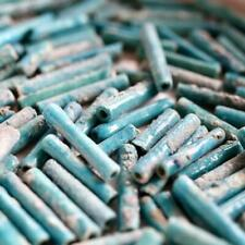 Tubular Turquoise Mummy Beads, 3000 years Old Antique: Museum of Jewelry