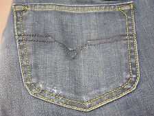 DIESEL CHEROCK 8RI WOMENS SLIM BOOTCUT FIT JEANS SIZE 29 LONG NEW MADE IN ITALY