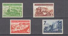 Chemin de Fer - Locomotives Bulgarie 354 - 57 (MNH)