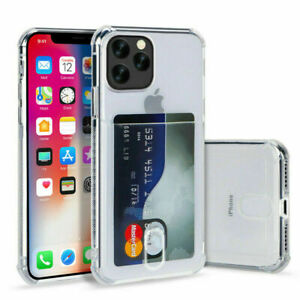 Card Holder Case For iPhone 12 Pro Max Mini XR 7 8 X 11 Shockproof Cover Wallet