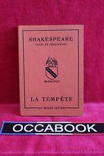 La tempête - William Shakespeare - Livre - Occasion