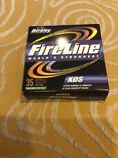 Berkley FireLine XDS 35lb Test 125 yards GREEN SMOKE Premium Thermal