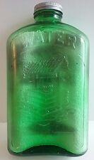 Wishing Well Green Water Refrigerator 1Qt. Bottle Gray Carnival Finish Hemingray