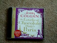 JENNY COLGAN - THE LOVELIEST CHOCOLATE SHOP IN PARIS- AUDIO BOOK- (1 MP3 CD )