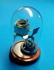 Custom Hand Forged Beauty and the Beast Rose, Decorative Home Accent, Metal