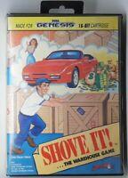 Shove It ...The Warehouse Game (Sega Genesis, 1990) Tested | Works |