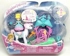 Disney Princess Little Kingdom PONY RIDE STABLE Magical Movers Twirl CINDERELLA