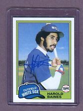Harold Baines White Sox 2016 Topps A65-HB Certified Autograph Issue jhxb11