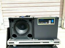 "JBL AXYS B-07 18"" 700W SELF POWERED SUB-WOOFERS W/RD CASE & PWR CORD (PAIR)"