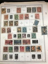 Thailand 1910 - 1970's Used Collection on Album Pages, Sets, Part Sets Good Cv