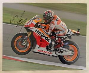 Marc Marquez signed 11x14 MotoGP photo Honda *PROOF*