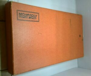 Parker Monopoly Miro 1936 - Collection - vintage - ancien