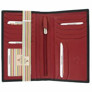 Visconti Colorado Soft Leather Gents Jacket Wallet CD16 RFID blocking