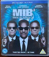 Uomo IN Nero 3 Blu-Ray III 2012 Fantascienza Commedia Sequel Film Con Volontà