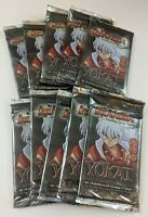 InuYasha Yokai 10 Booster Pack LOT NEW Sealed Fresh From Box TCG CCG Card Game