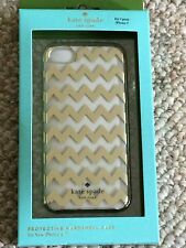 4th July SALE! NWT Kate Spade New York Chevron Gold Foil iPhone 7 Case