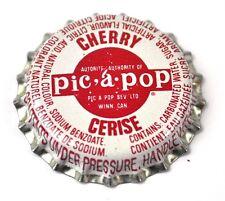 Canadian Gold Beverages Pic-a-Pop Cherry Tappo Bottiglia Canada Soda
