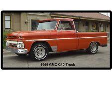 1966 GMC C10 Truck Refrigerator / Tool Box  Magnet