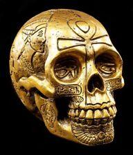 egipcio Calavera color dorado - Figura Deco Calavera CALAVERA SKULL