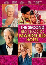 The Second Best Exotic Marigold Hotel (DVD, 2015)