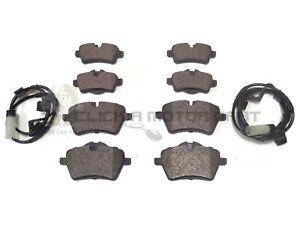 BMW Mini Clubman R55 Estate 11//2007-9//2015 1.6 Front Brake Pads Set W132-H64-T18