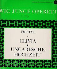 *- Vinyl-LP -Ewig Junge OPERETTE - CLIVIA / Ungarische HOCHZEIT - Dostal