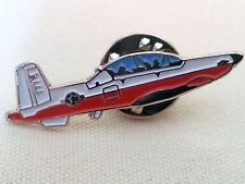 AT-6 Beechcraft Light Attack Airplane Pin / Red White Blue Color / NEW