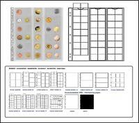 1 x Leuchtturm 301127-L MÜNZHÜLLEN NH48 NUMIS 17 Für Münzen bis 17 mm