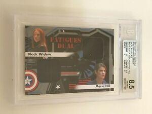 2014 Marvel CAPTAIN AMERICA Winter Soldier SCARLETT JOHANSSON Cobie Smulders BGS
