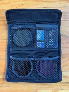 Vivitar Series 1 Filter Kit UV Protection CPL Circular Polarizer FLD Fluorescent