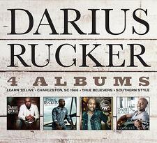 Learn to Live 4 Album Set Darius Rucker 5060001276236