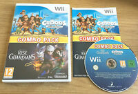 THE CROODS PREHISTORIC PARTY & RISE OF THE GUARDIANS COMBO PACK - WII NINTENDO