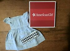 NIB American Girl ADDY'S BLUE DRESS Retired Sold Out Complete