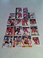 *****Steve Chiasson*****  Lot of 50 cards.....28 DIFFERENT / Hockey