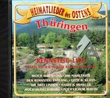 CD - Thüringer Lieder / Der alte Schmückewirt, Rennsteig Marsch / s337 - NEU