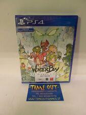 Wonder Boy The Dragon's Trap SONY PS4 PLAYSTATION 4 NUOVO SIGILLATO