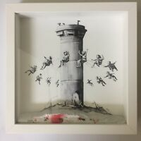 BANKSY BoxSet The Walled Off Hotel Exclusive Print + Receipts & Special Gifts!!!