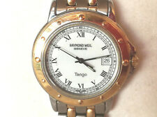 RAYMOND WEIL TANGO 5560 Herren Armband Uhr bicolor Datum / Wrist watch