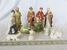 Nativity Set 11 Piece Porcelain Hand Painted